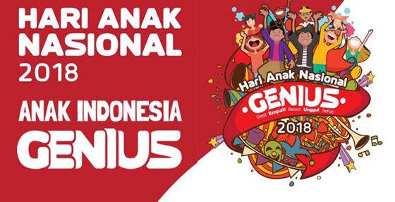 Hari Anak Indonesia Genius 2018 Cd166