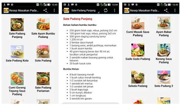 Aneka Resep Masakan Padang 608d7