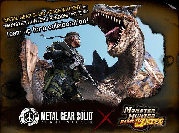 Logo Metal Gear Solid Peace Walker X MHFU 96947