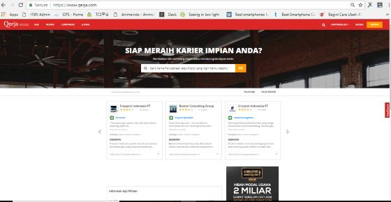 Website Lowongan Kerja Paling Terpercaya 10 861f1