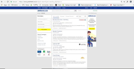 Website Lowongan Kerja Paling Terpercaya 7 B558d