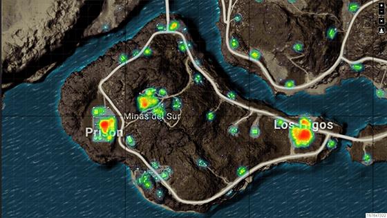 Lokasi Looting Terbaik Pubg Mobile Map Miramar Island 436c1