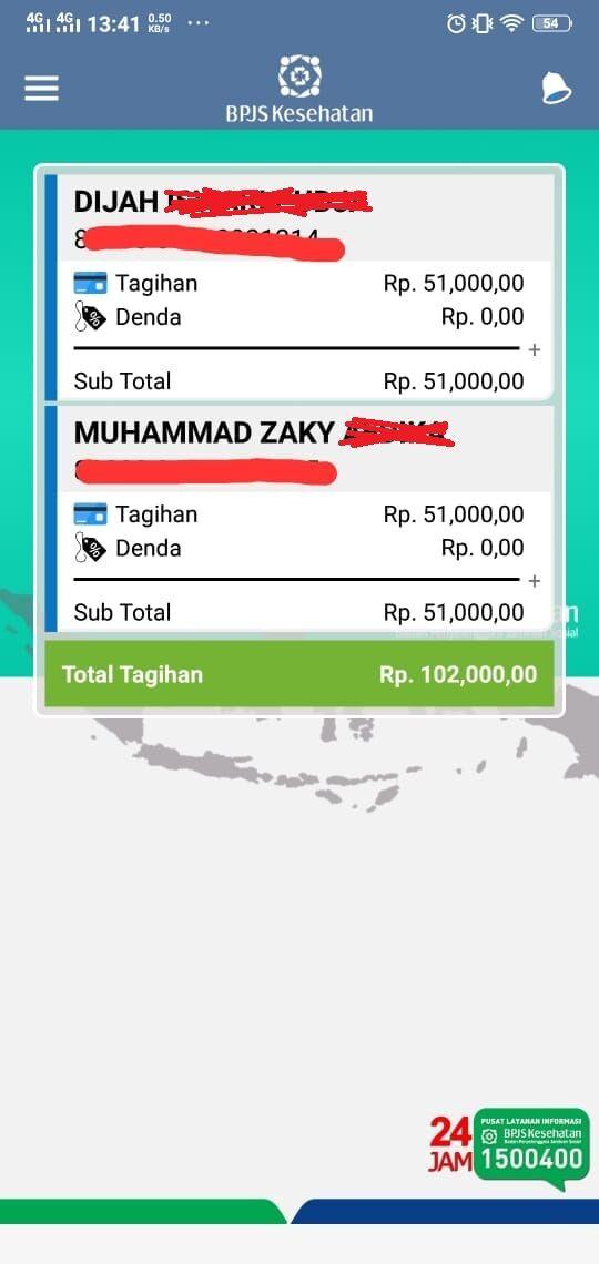Cek Tagihan Bpjs Online 4 21751