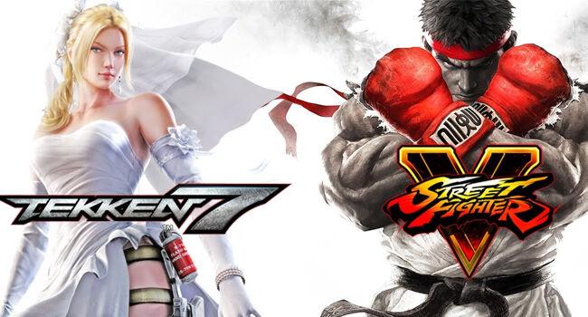 Tekken 7 Street Fighter V Dcaf9