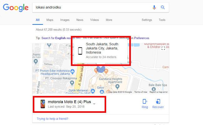 Lokasi Android 1 4 1a4bd