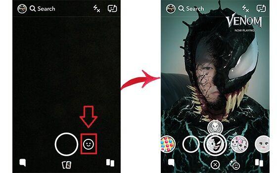 Cara Berubah Menjadi Venom Media Sosial 6 Ed1c9