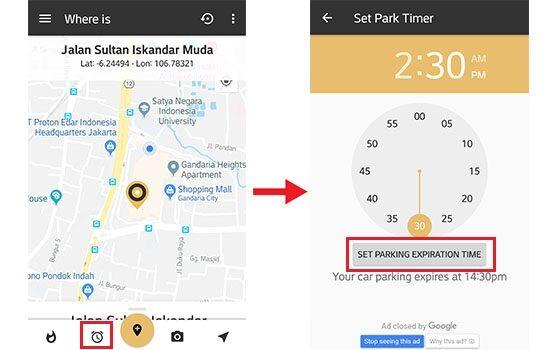 Cara Menemukan Lokasi Parkir Kendaraan Pakai Smartphone 3 6c4df