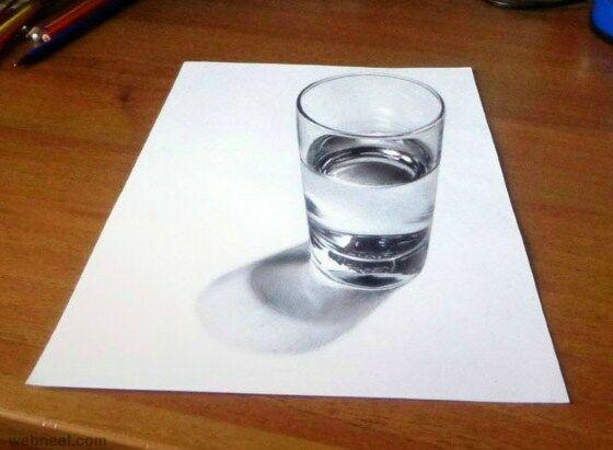Gambar 3D Keren Pensil 6 F9826