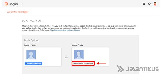 Cara Membuat Blog Profile 4b356