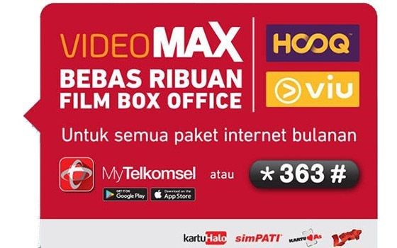 Cara Menggunakan Kuota Videomax Telkomsel D1939