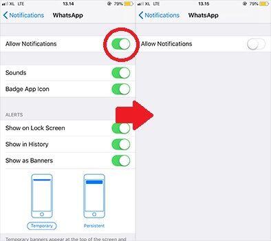 Cara Menonaktifkan Whatsapp Iphone 13 A6ff4