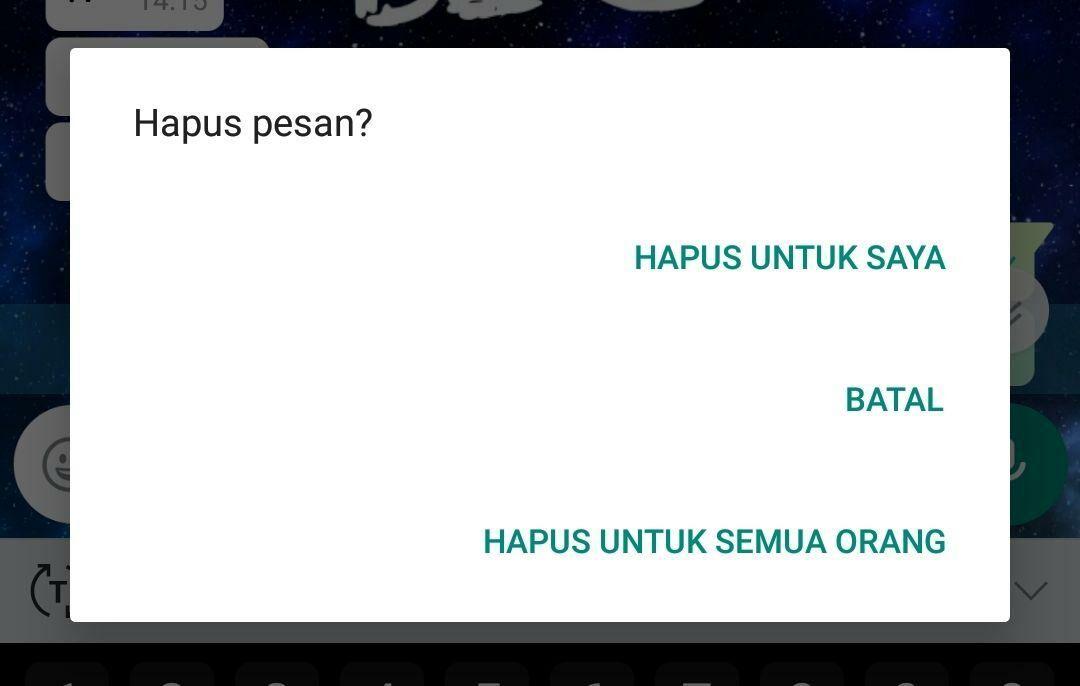 Cara Menarik Pesan Whatsapp Android 2 1f59b