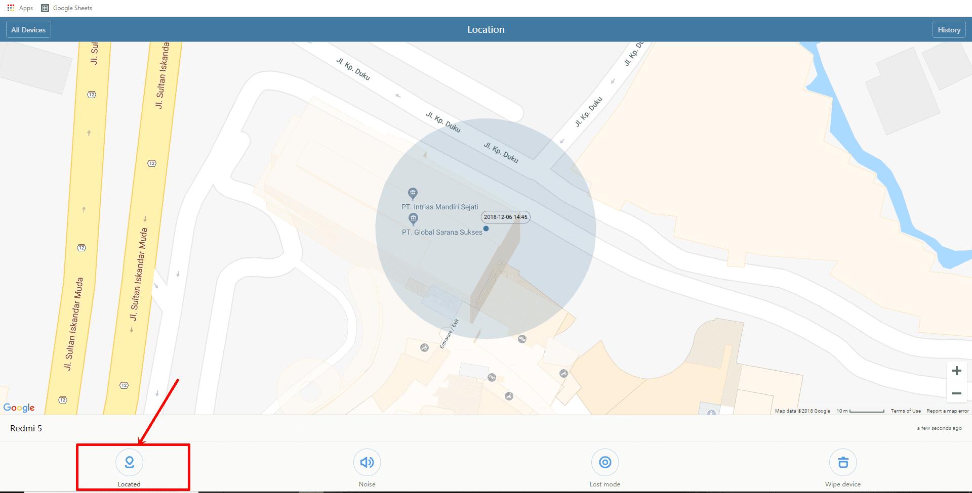 Cara Melacak Lokasi Smartphone Xiaomi Yang Hilang 4 7e6dc