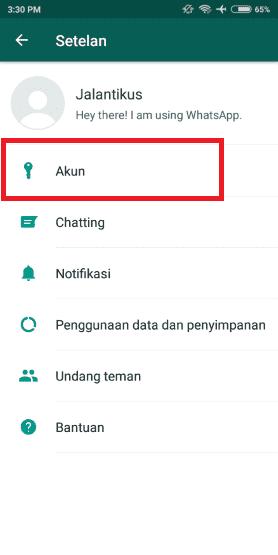 Cara Whatsapp Tidak Terlihat Online 2 9902f