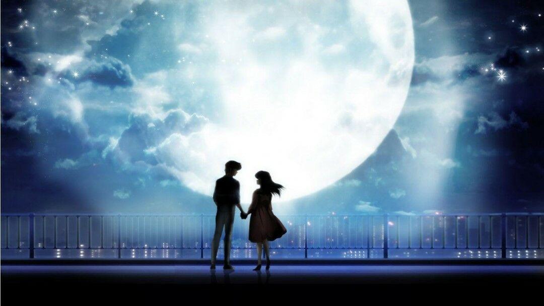 Gambar Anime Romantis Hitam Putih 3 4557e