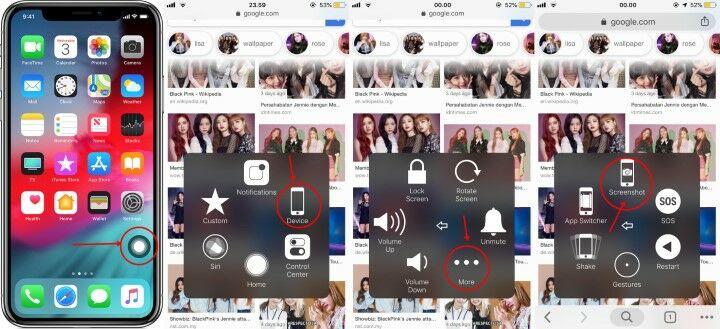 Cara Screenshot Iphone 5 Tanpa Tombol Power 3f579