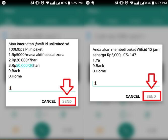 Cara Daftar Wifi Id 4 C3079