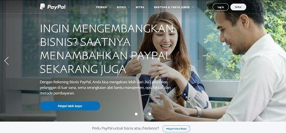 Cara Daftar Paypal 1 1cdcd