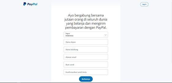 Cara Daftar Paypal 3 B4436