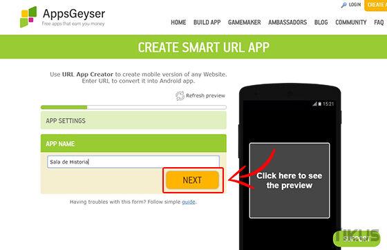 Cara Membuat Aplikasi Android Appgeyser 05 428a3