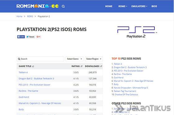 Cara Download Game Ps2 Iso Romsmania 01 Dcf61