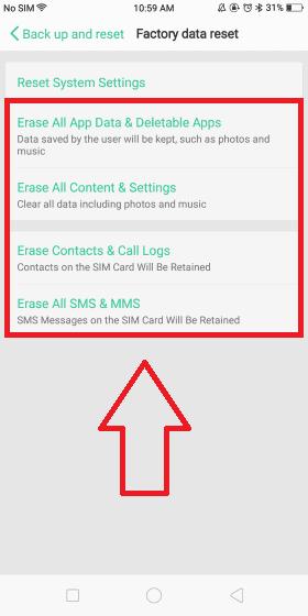 Cara Restart Hp Oppo 4 0d870