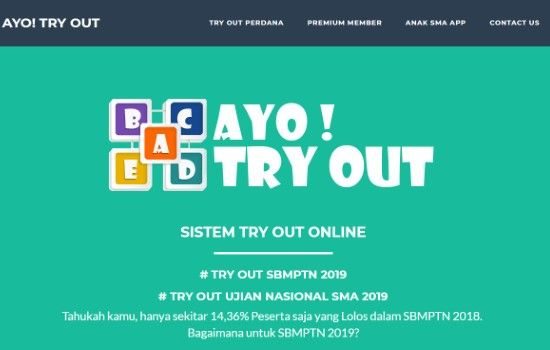 Tryout Online Ayo Tryout 8bbd6