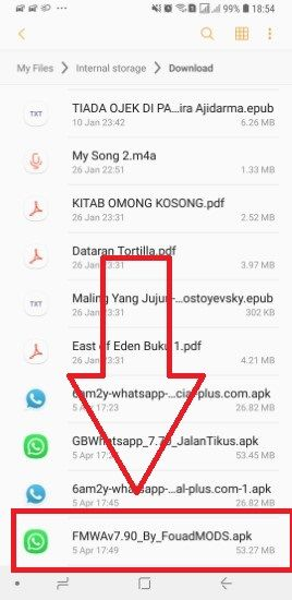 Cara Download FMWhatsapp 6e018
