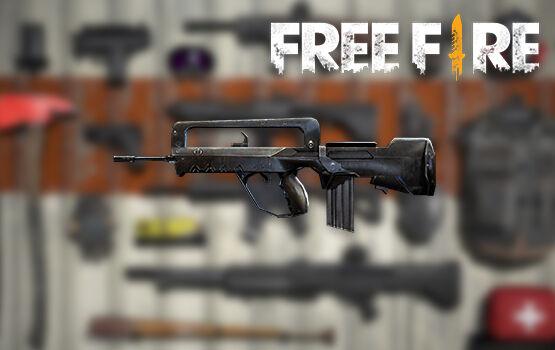 Senjata Terbaik Di FreeFire Famas Fd7e7