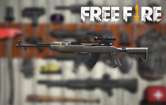 Senjata Terbaik Di FreeFire Sks Af6c2