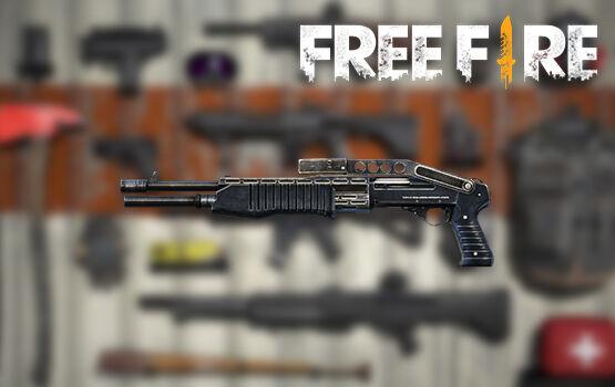 Senjata Terbaik Di FreeFire Spas F7d89