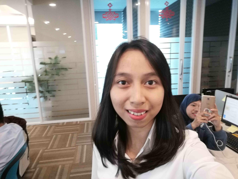 Review Huawei P30 Lite Selfie 1 F787c