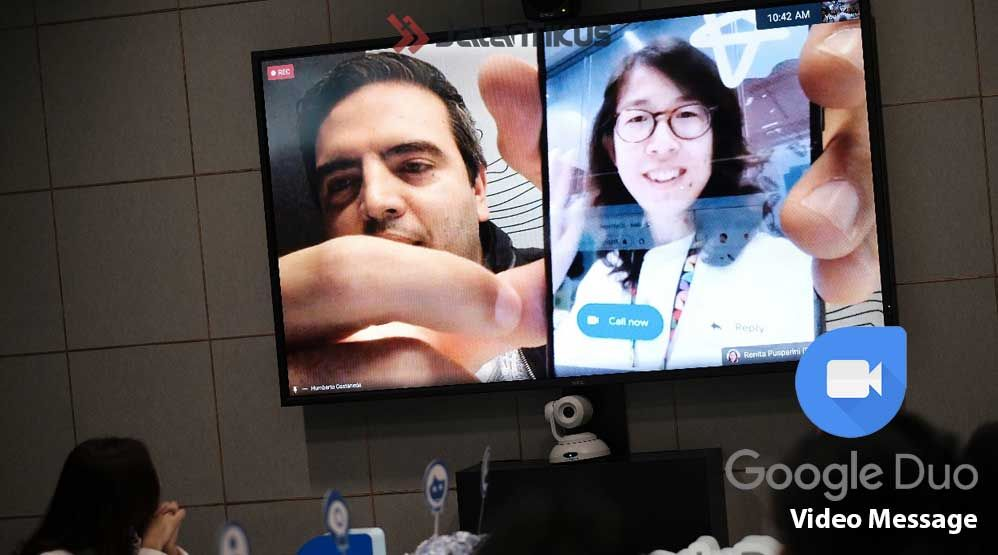 Fitur Google Duo Video Message C71a1