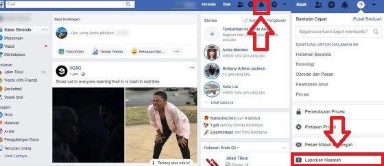 Cara Mengatasi Facebook Error Lapor 1 0d27c