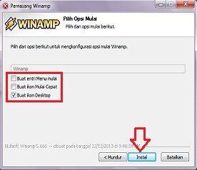 Cara Menginstall Winamp 7