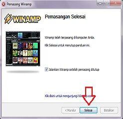 Cara Menginstall Winamp 8