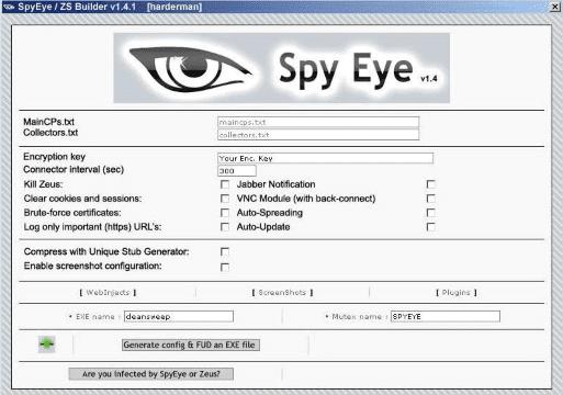 Spyeye 8332e