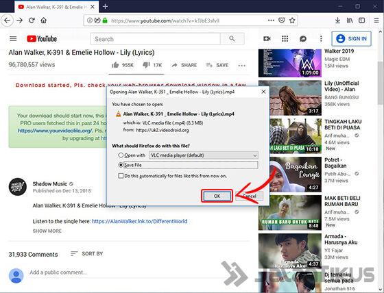 Cara Download Youtube Firefox 07 079e5