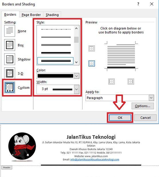 Cara Mudah Membuat Kop Surat Resmi Manual 6 C7e48