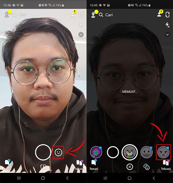 Snapchat Filter Cowok Jadi Cewek 03 C5d50