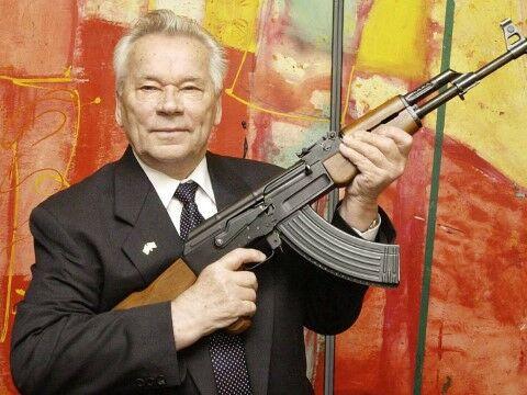 Mikhail Kalashnikov Dd77c
