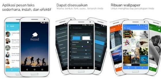 Aplikasi Mood Messenger Ce871