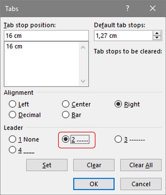 Cara Membuat Daftar Isi 3 B1a0a