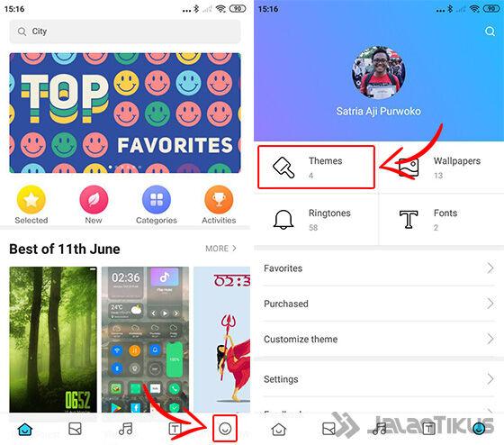 Install Tema Mobile Legends Xiaomi 06 A2995