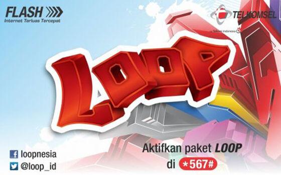 Paket Internet Loop Telkomsel Ac3fe