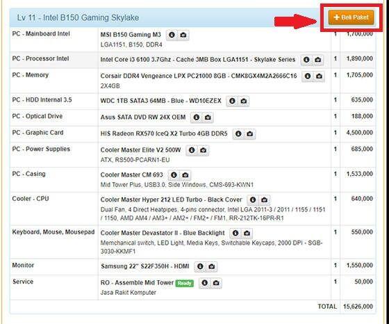 5 Website Untuk Simulasi Harga Rakit PC 9 D65a4