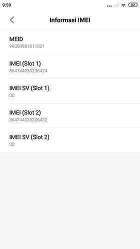 Cara Cek Imei Xiaomi 04 A3626