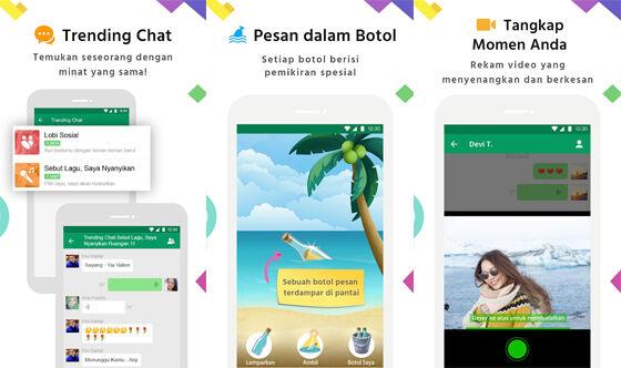 Aplikasi Mencari Teman Sekitar Michat C543c