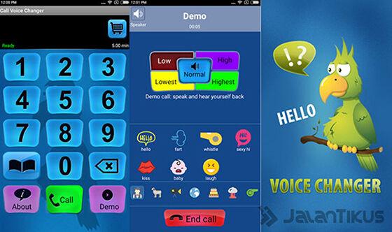 Aplikasi Pengubah Suara Android Intcall 850c5