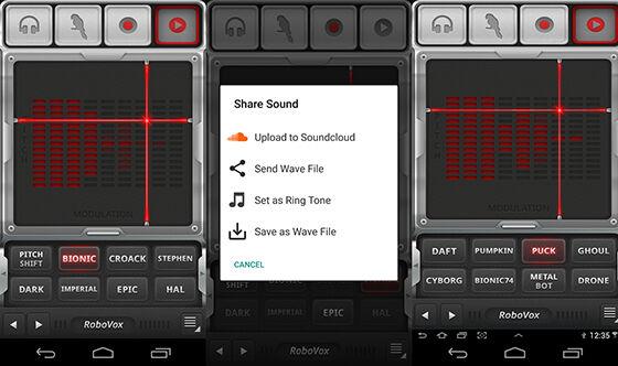 Aplikasi Pengubah Suara Android Robovox 002b3